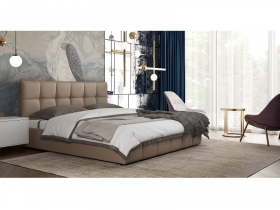 Кровать Хлоя бежево-коричневый