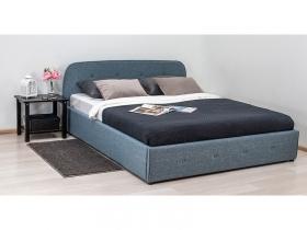 Кровать Илона Серо-бирюзовый