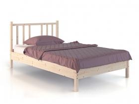 Кровать из дерева Карелия МС-21-2 на 1200