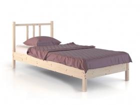 Кровать из дерева Карелия МС-21-3 на 900