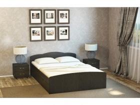 Кровать Ким венге без ящиков
