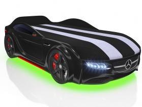 Кровать-машинка Junior AMG черная