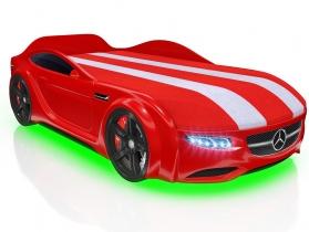 Кровать-машинка Junior AMG красная