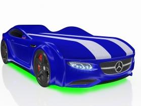 Кровать-машинка Junior AMG синяя