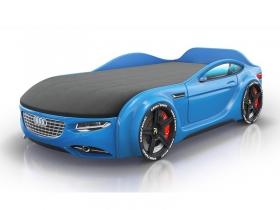 Кровать-машинка Romack Junior голубая