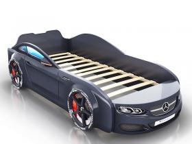 Кровать-машинка Romack Real черная