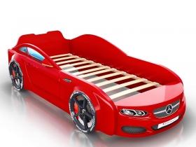 Кровать-машинка Romack Real красная