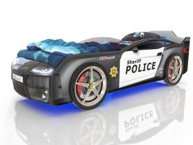 Кровать-машинка Ромак Kiddy Полиция