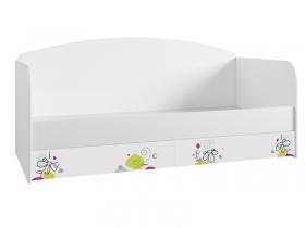 Кровать с ящиками Радуга ДКД 2000.1