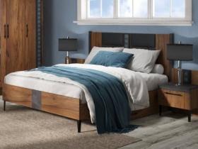 Кровать с ящиками Таксония с основанием