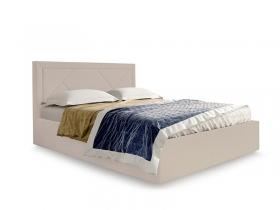 Кровать Сиеста вариант 2 Бежевый велюр