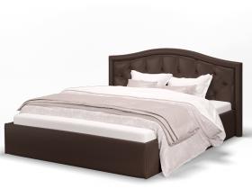 Кровать Стелла коричневая 1600