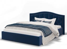 Кровать Стелла синяя с подъемным механизмом