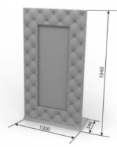 Кровать Верона Зеркало Джульетта 1000х346х1940