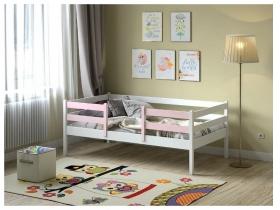 Кровать Viki VK-2-22 БР Бело-розовый