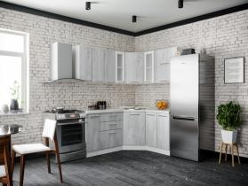 Кухня модульная Герда пайн белый