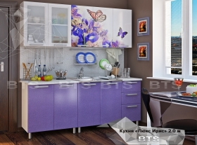 Кухонный гарнитур Люкс Ирис 2,0