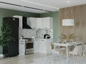 Кухонный гарнитур угловой Бланка 1200х2000