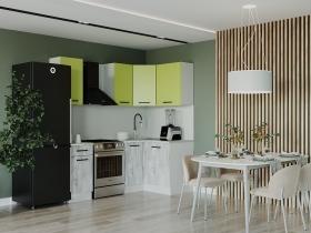 Кухонный гарнитур угловой Гарда 1200х2000