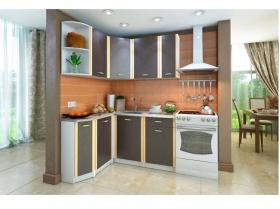 Кухонный угловой гарнитур Бланка венге СТЛ.123.00 левый