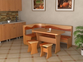 Кухонный уголок Титул 1 Ольха брауни