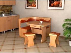 Кухонный уголок Титул мини Ольха брауни