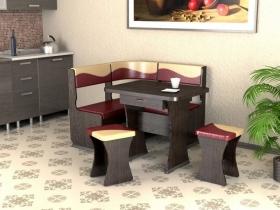 Кухонный уголок Титул мини Венге бордо