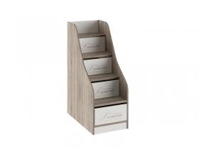 Лестница приставная с ящиками Брауни ТД-313.11.12 ШхВхГ 466х1213х839 мм