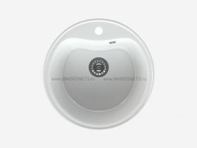 Мойка глянцевая Maxstone MS-0 Белый снег