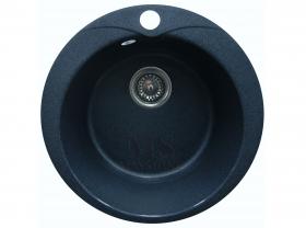 Мойка каменная МС-1 Черный металлик глянец