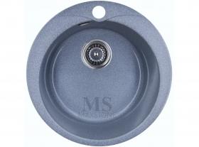 Мойка каменная МС-1 Светло-серый глянец