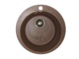 Мойка каменная МС-1 Терракот металлик