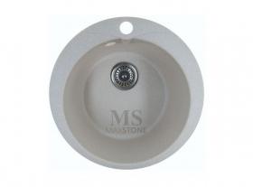 Мойка каменная МС-1 Ванильный камень