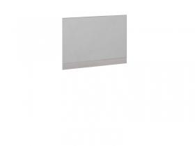 Панель с зеркалом Мишель Ясень шимо-Бежевый фон глянец с рисунком ШхВхГ 902х640х22 мм
