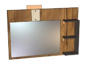 Панель с зеркалом Таксония