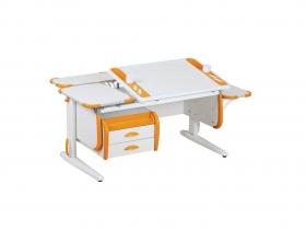 Парта СУТ-31 White Maxi оранжевая