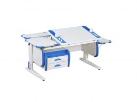 Парта СУТ-31 White Maxi синяя