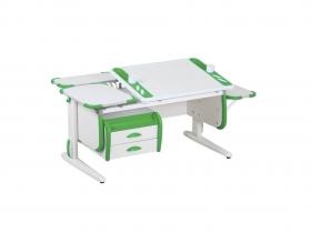 Парта СУТ-31 White Maxi зеленая