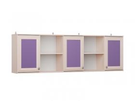 Полка навесная над кроватью Бриз П-50 Фиолетовый