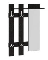 Прихожая Арт Вешалка с крючками и зеркалом Арт-мини 780х272х1180
