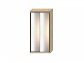 Шкаф - купе Хит 17.55 2 двери зеркало 2400х1682х620мм