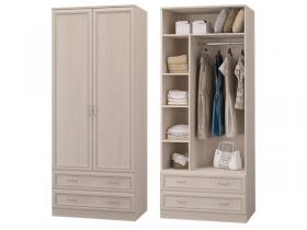 Шкаф 2-х дверный с 2 ящиками Верона