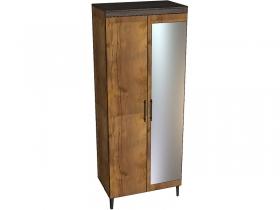Шкаф 2-х дверный с зеркалом Таксония