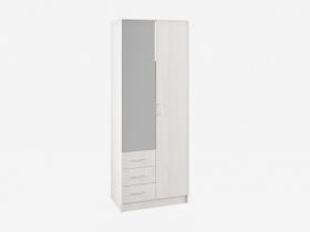 Шкаф 2-х створчатый с зеркалом Ронда ШКР 800.3 Анкор