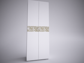 Шкаф 2-х створчатый Селена ШхВхГ 800х2132х450 мм