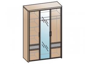 Шкаф 3-х створчатый с зеркалом Камелия Matrix ШК-1104