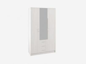 Шкаф 3-х створчатый с зеркалом Ронда ШКР 1200.2 Анкор