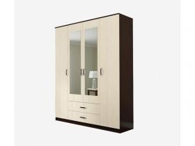 Шкаф 4-х створчатый Ронда ШКР1600.1 Венге-Дуб белфорт