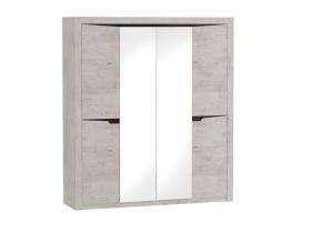 Шкаф четырехдверный Соренто