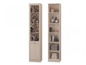 Шкаф для книг со стеклянной дверкой Верона